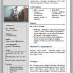CV pavyzdys studentui neturinčiam darbo patirties